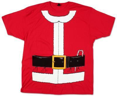Santa Claus Costume Tee (Slim Fit)