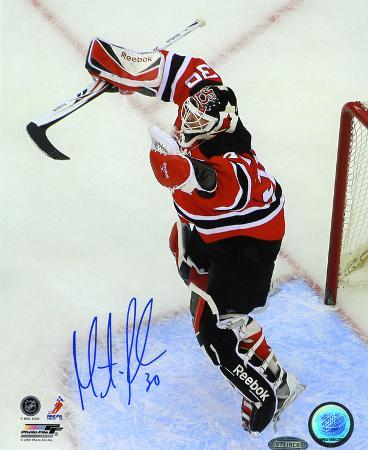 Martin Brodeur New Jersey Devils 552 Win Autographed Photo (Hand Signed Collectable)