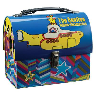 The Beatles - Yelow Submarine Dome Tin Lunch Box