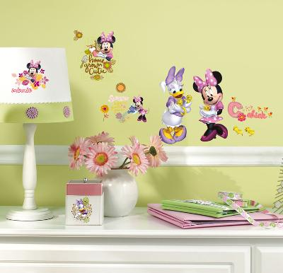 Mickey & Friends - Minnie Mouse Barnyard Cuties Peel & Stick Wall Decals