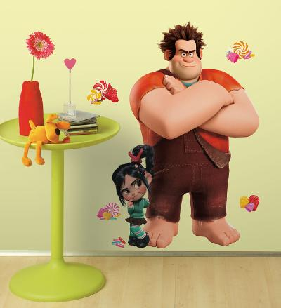 Wreck it Ralph Peel & Stick Giant Wall Decals