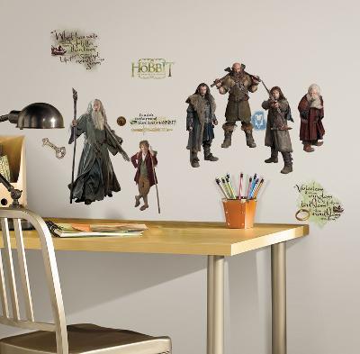The Hobbit Peel & Stick Wall Decals