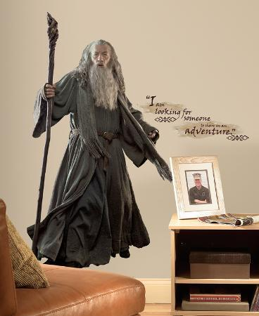 The Hobbit - Gandalf Giant Peel & Stick Wall Decals