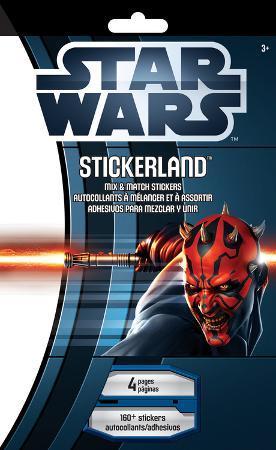 Star Wars - The Saga Mix & Match Stickerland Pad