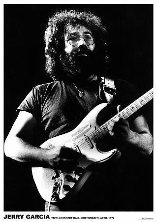 Jerry Garcia Copenhagen 1972