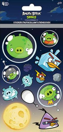 Angry Birds Space Stickers