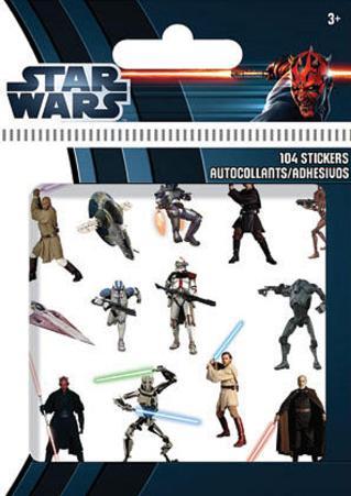 Star Wars Saga Stickers