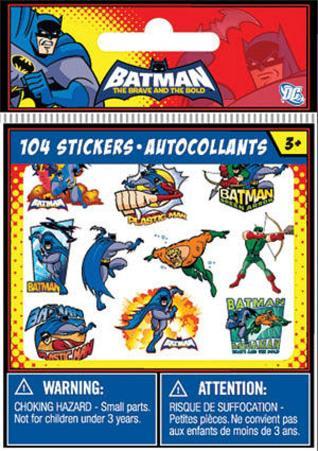 The Batman Bitty Bits Stickers