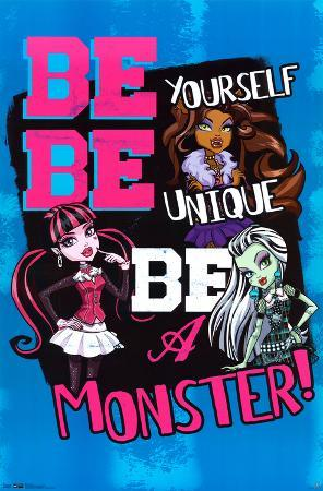 Monster High Augmented Reality Poster