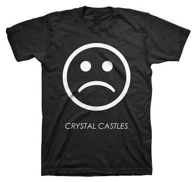 Crystal Castles - Sad Face (slim fit)