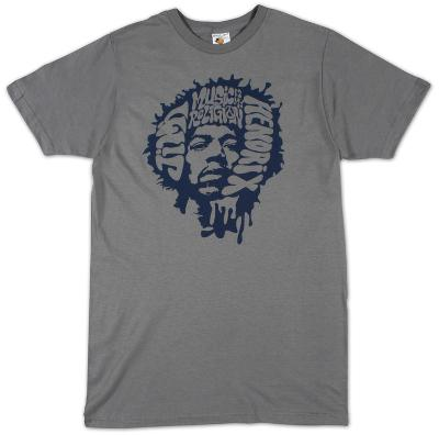 Jimi Hendrix - Music is my Religion (slim fit)