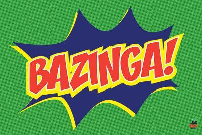 Big Bang Theory - Bazinga Icon Maxi Poster
