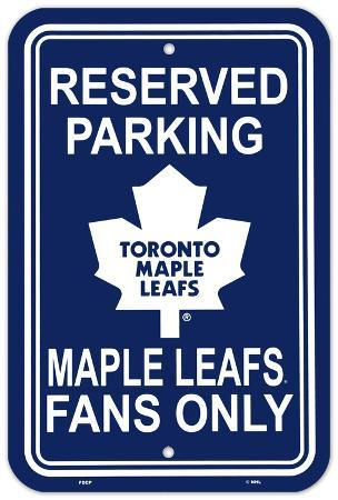 Toronto Maple Leafs Parking Sign