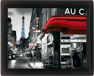 Framed: Rue Parisienne