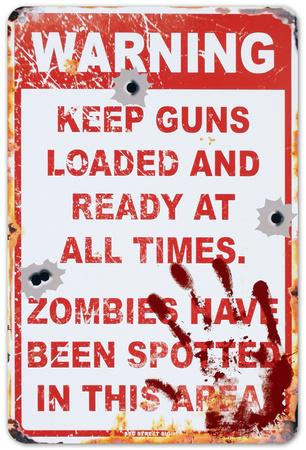 No Trespassing: Zombies Have Been Spotted