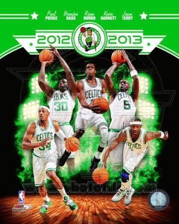 Boston Celtics 2012-13 Team Composite