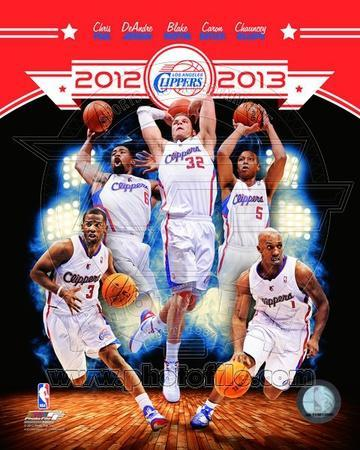 Los Angeles Clippers 2012-13 Team Composite
