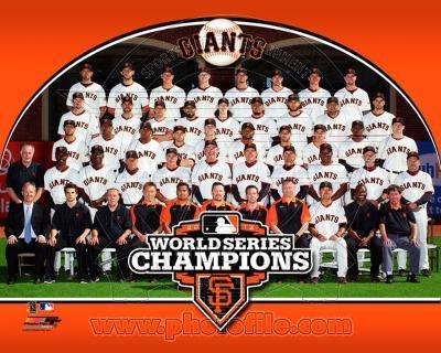 MLB The San Francisco Giants 2012 World Series Champions Team Photo