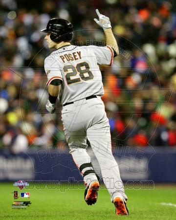 Buster Posey 2 Run Home Run Game 4 of the 2012 World Series Action