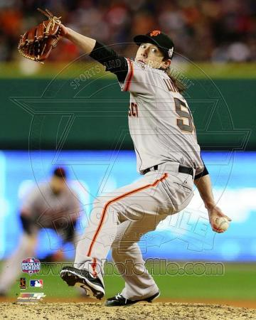 Tim Lincecum Game 3 of the 2012 World Series Action