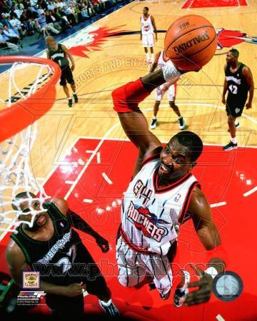 NBA Hakeem Olajuwon 1999 Action