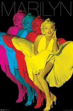 Marilyn Monroe - Colorful Pop Art