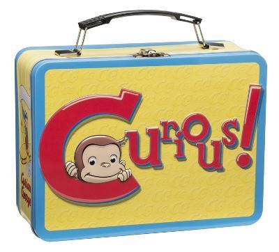 Curious George Large Tin Lunch Box
