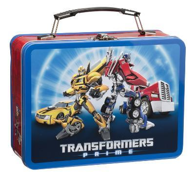 Transformers Prime Large Tin Lunch Box