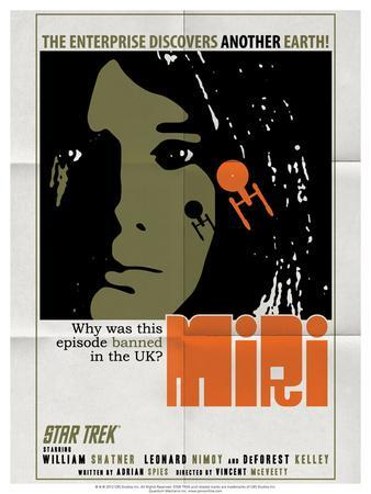 Star Trek Episode 8: Miri TV Poster