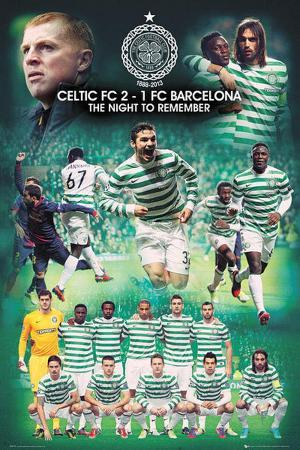 Celtic FC - Barcelona Euro Night To Remember