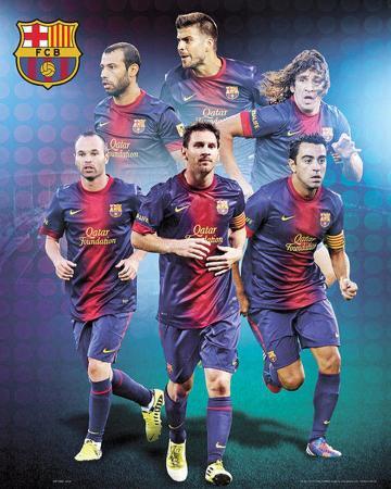 FC Barcelona 2012/13 Players