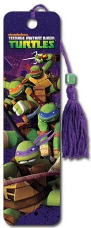 Teenage Mutant Ninja Turtles - Group TMNT Beaded Bookmark