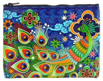 Peacock Zipper Pouch