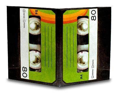 Cassette Tape Mini Tyvek Mighty Wallet