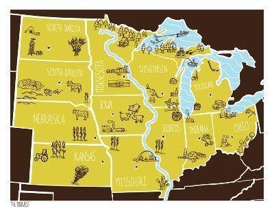 American Atlas - The Midwest