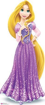 Rapunzel Royal Debut - Disney Lifesize Standup
