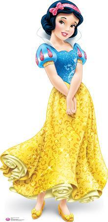 Snow White Royal Debut - Disney Lifesize Standup