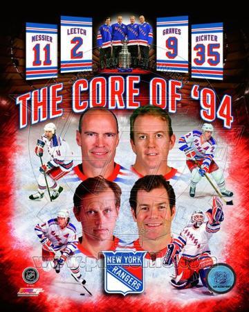 New York Rangers Core Of 1994 Composite