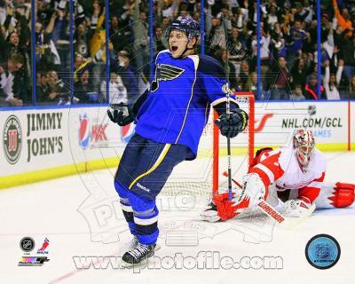 NHL Vladimir Tarasenko 1st NHL Goal 2012-13 Action