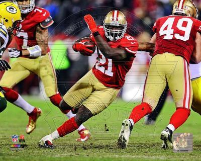 Frank Gore 2012 NFC Divisional Playoff Action