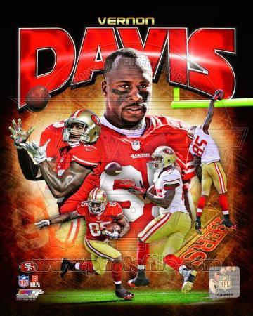 Vernon Davis 2012 Portrait Plus