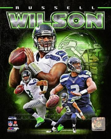 NFL Russell Wilson 2012 Portrait Plus