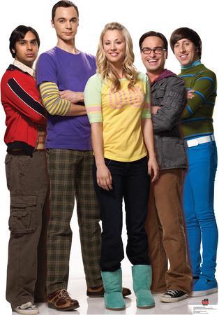 Big Bang Theory Group Lifesize Standup