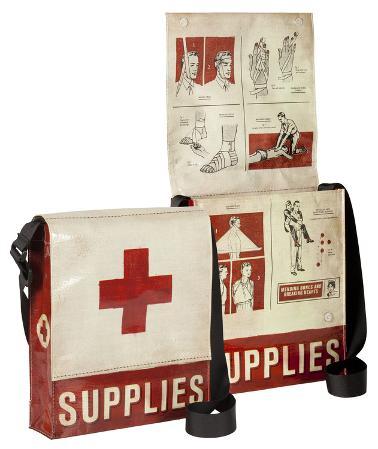 Medical Supplies Messenger Bag
