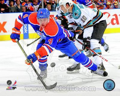 Taylor Hall 2012-13 Action