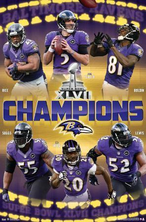 Baltimore Ravens Super Bowl XLVII Champions