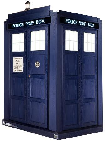 Doctor Who - 3D TARDIS Lifesize Standup