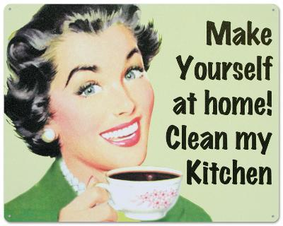 Make Yourself at Home…Clean My Kitchen