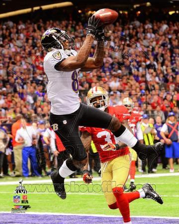 Anquan Boldin Touchdown Super Bowl XLVII
