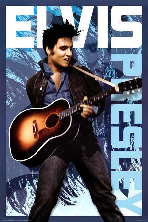 Elvis Presley Blue
